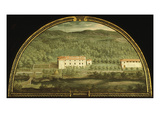 Villa Serraveza  Tuscany  Italy  from Series of Lunettes of Tuscan Villas  1599-1602
