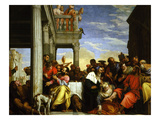 Meal at the House of Simon  C1560  Painted for the Convent of San Nazaro and Celso at Verona