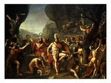 Léonidas Aux Thermopyles (Leonidas  King of Sparta  at Thermopylae)