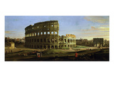 The Colosseum and the Roman Forum (Inv 884)