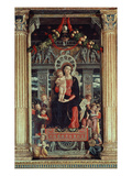 Madonna and Child with Angels  Central Panel of 1459 Altarpiece of Saint Zeno