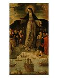 Virgin of the Navigators  Altarpiece (Central Panel)