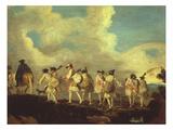 Fantassins En Marche (Foot Soldiers on a March)