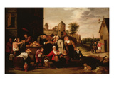 Charitable Works of the Misericordia (A Florentine Charity Established in the 13th Century)