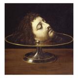 John the Baptist's Head  1507  Oil on Wood