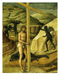 Christian Saved by the Cross  from Descent into Limbo