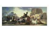 La Era O El Verano  the Threshing Floor or Summer  Tapestry Cartoon  1786