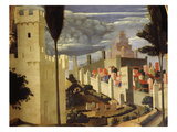 Jerusalem  from Deposition of Christ  1435  from Holy Trinity Altarpiece (Detail)