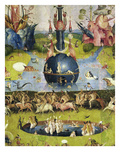 Allegory of Luxury  Central Panel of the Garden of Earthly Delights  C 1503-04 Triptych (Detail)