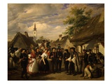 The Arrival of the Bride  1856