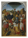 Gathering of the Manna  Oil on Wood  C 1460-70