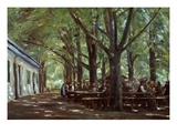 Brasserie À Branneburg (Outdoor Café in Branneburg  Germany)  1893