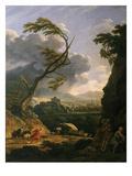 Midi Sur Terre  Le Coup De Vent (Gust of Wind)  1767