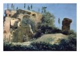 A La Villa Farnèse; Les Ruines (At the Villa Farnese  Near Rome  Italy; Ruins)