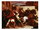 Bareback Horse Race  Rome C1817