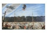 Ascent of Montgolfier Balloon  Madrid  Spain  12 August 1792