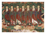 Seven Buddhas  Evoking the Great Bear  from Banner of Amrta-Raja