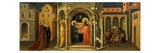 Christ's Presentation in the Temple  from Predella to Adoration of the Magi