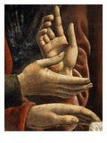 Hands of Saints Matthew and Philip  from the Last Supper  Fresco C1444-50 (Detail)