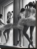 Ballerinas In Window