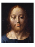 Jesus Christ  from Last Supper  Predella from Three-Part Retable  Paint on Wood  C 1530-40