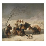 La Nevada or El Invierno  the Snowfall or Winter  1786-7