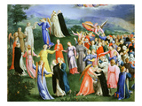 Paradise from the Last Judgement  Copy of Version by Fra Angelico (1387-1455)