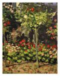 Jardin En Fleurs  Garden in Flower  1866  Detail