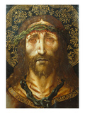 The Holy Face  Christ Suffering  1515-25  from Vic Cathedral