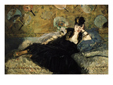 La Dame Aux Eventails  Lady with Fans  1873
