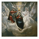 The Coronation of the Virgin 99X101Cm