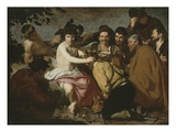 The Topers (Los Borracios) or Triumph of Bacchus before 1629 165X225Cm