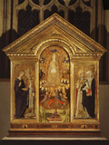 The Assumption of the Virgin Mary  1461  with Saints
