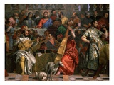 Musicians  from the Wedding at Cana  Painted 1562-63