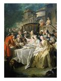 Hunt Luncheon (Un Déjeuner De Chasse)  1737