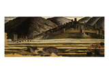 Landscape with Partridge  from Predella of the Assumption of the Virgin Mary  Altarpiece (Detail)