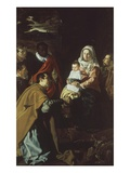Adoration of the Magi  with Portraits of Velazquez and Family  1619