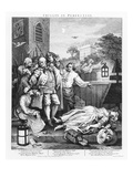 Cruelty in Perfection  Engraving 1751