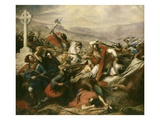 Battle of Tours (Also Called the Battle of Poitiers)  France  25 October 732