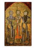 The Evangelists of Cappadocia Saint Gregory Nazianzus  St John Chrysostom  St Basil the Great