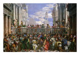 The Wedding at Cana  Painted 1562-63