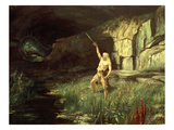 Siegfried  Hero of the Ring of the Nibelungen Opera Cycle by Richard Wagner  1813-83