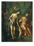 Couple in Idealised Landscape  from Allegory of Court of Isabella D'Este