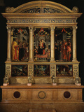 Altarpiece of Saint Zeno  with Saints Peter  Paul  John the Evangelist  Zeno