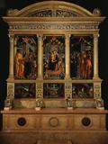 Altarpiece of Saint Zeno  with Saints Peter  Paul  John the Evangelist  Zeno