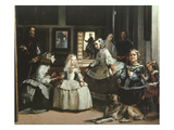 Las Meninas (Family of King Philip IV of Spain)  1656 (Detail)