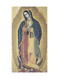 The Virgin of Guadalupe  18th Century  Santo Domingo Church  Oaxaca  Mexico