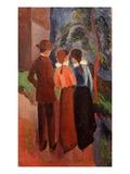 Three on a Walk  1914