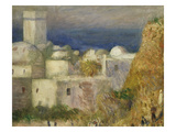 Algerian Village  from La Mosquée  Ou Fête Arabe  the Mosque or Arab Festival  1881  Detail