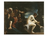 Susanna and the Elders  1617